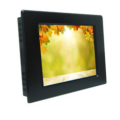 Aluminum Front Bezel Sunlight Readable LCD Monitor VGA / DVI / HDMI Input